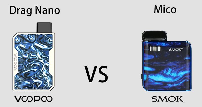 Voopoo Drag Nano VS SMOK Mico?