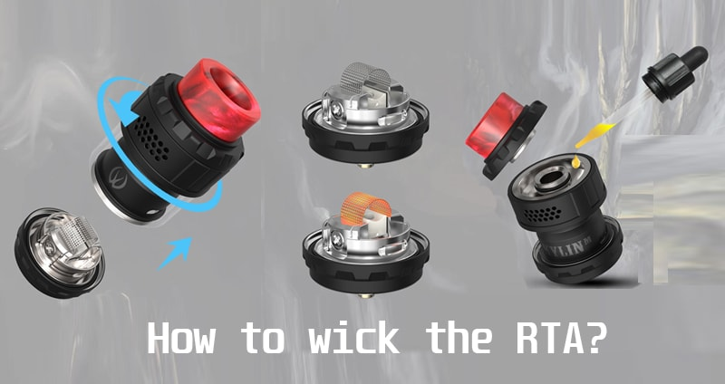 How to build and wick the Kylin RTA?