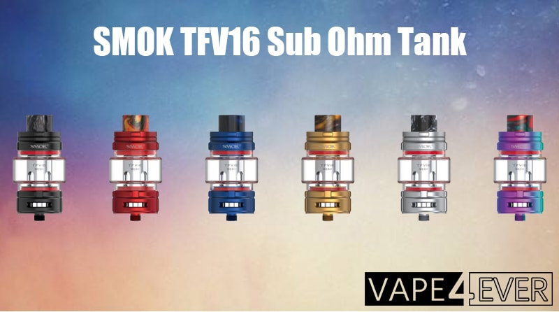 SMOK TFV16 Sub Ohm Tank instructions