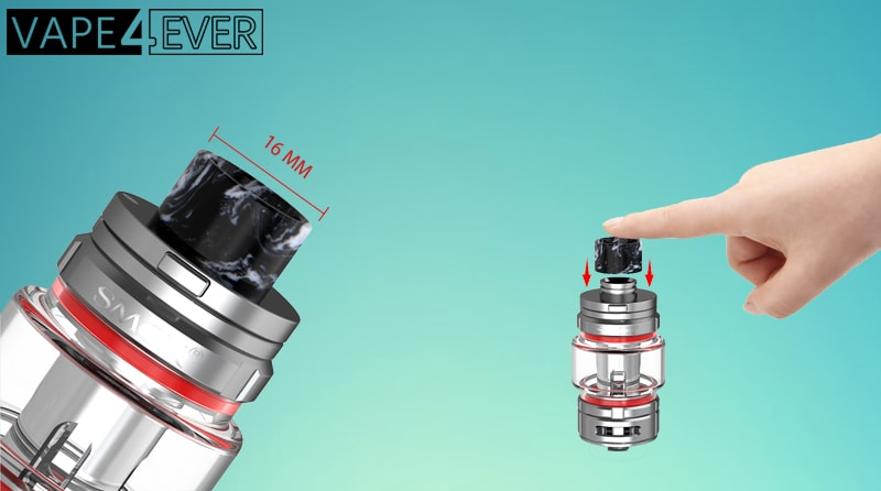 16mm Exclusive Resin Drip Tip