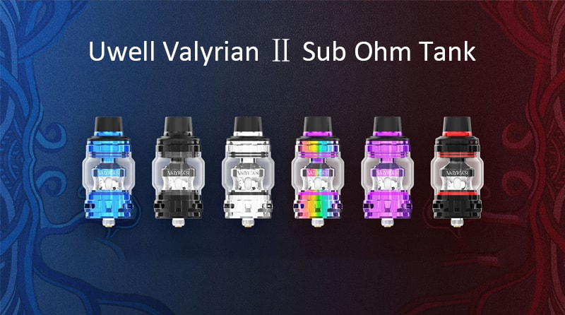 Uwell Valyrian 2 Instructions