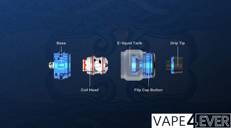 Uwell Valyrian 2 Specifications