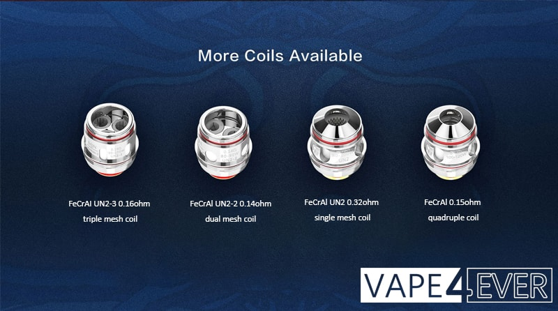 Single, Dual, Triple And Quadruple Coils Are Available.
