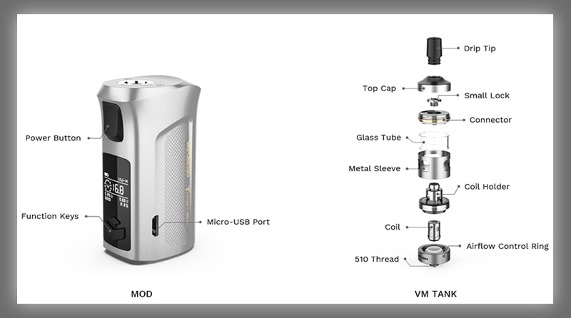 Vaporesso Target Mini 2 Specifications