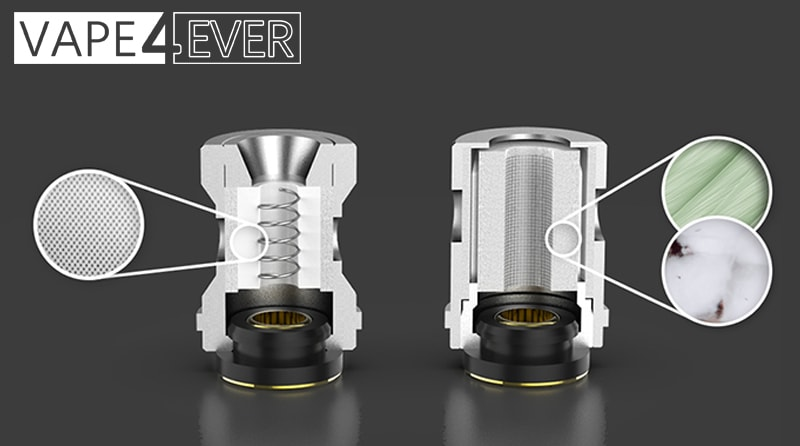 One-of-a-Kind Meshed Tea Fiber and Ccell Coil Compatibility