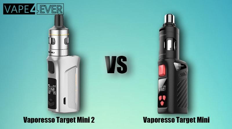 Vaporesso Target Mini Kit Vs Vaporesso Target Mini 2 Kit