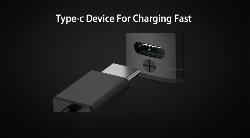 Fast charging with type C