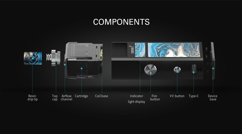 Features of the Smoant Pasito Pod system