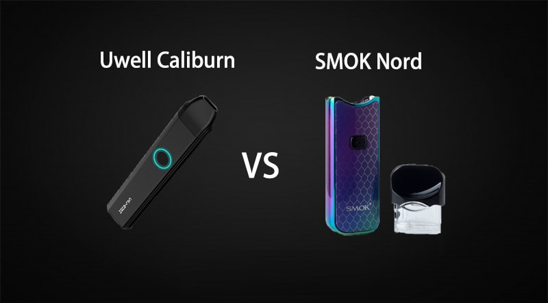 Uwell Caliburn vs. SMOK Nord
