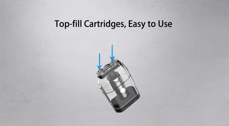 Top-fill Cartridges