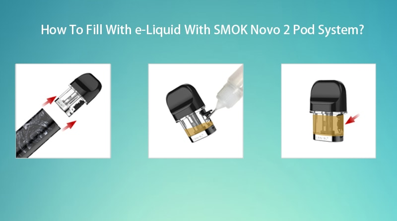 How To Fill e-Liquid With SMOK Novo 2 Pod kit