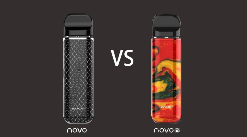 Difference Between SMOK Novo 2 Pod Kit VS SMOK Novo Pod Kit