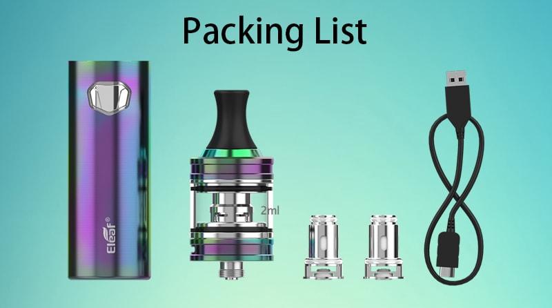 Eleaf iJust Mini Kit Package Includes