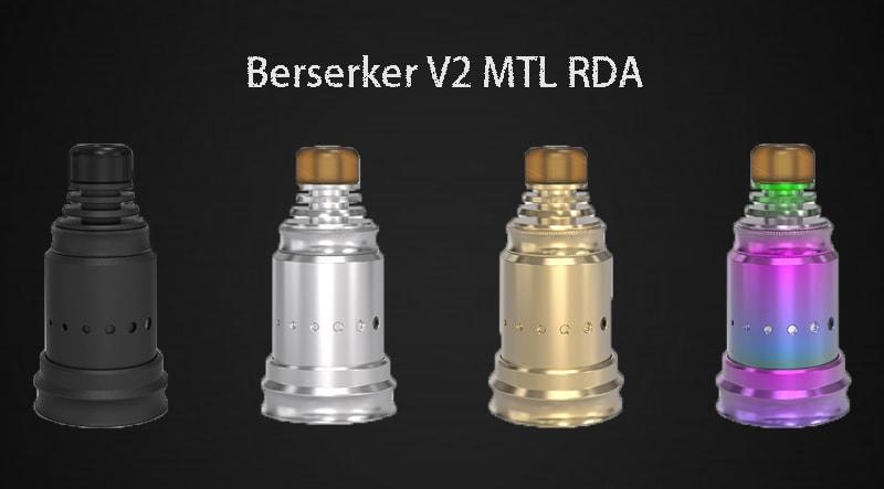 Vandy Vape Berserker V2 MTL RDA Instructions