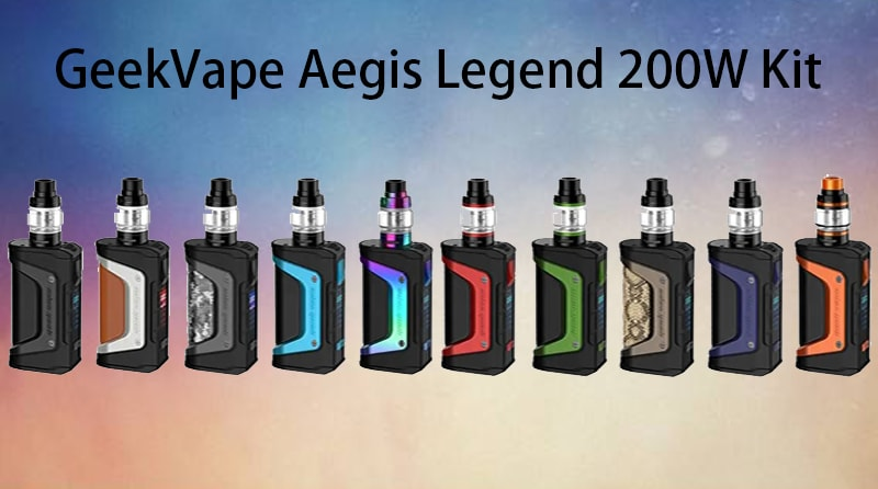 GeekVape Aegis Legend 200W Kit Instructions