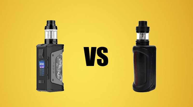 Differences Between GeekVape Aegis Legend 200W TC Kit VS GeekVape Aegis 100W TC Kit