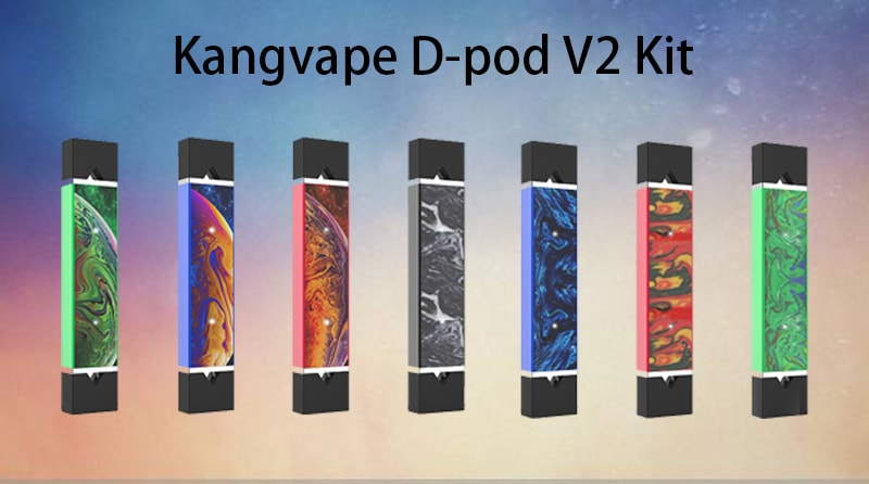 Kangvape D-pod V2 Kit Instructions
