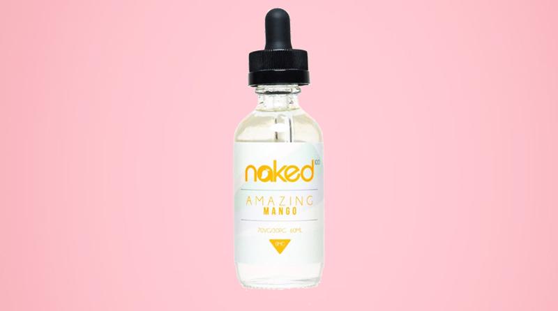 Naked 100 eJuice - Amazing Mango Instructions