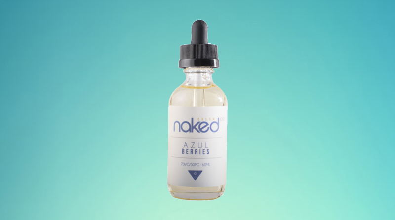 Naked 100 eJuice - Azul Berries Instructions