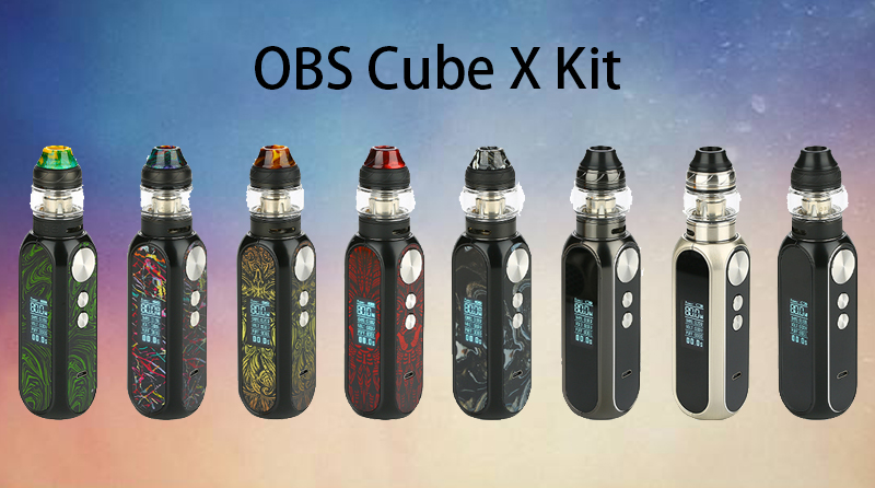 OBS Cube X Kit Instructions