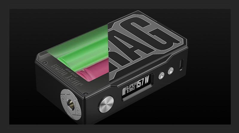 More on VOOPOO Drag 157W TC Box Mod