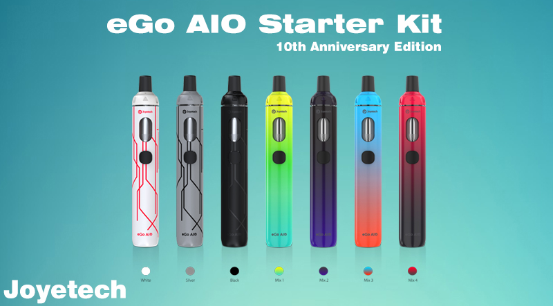 Joyetech eGo AIO Starter Kit 10th Anniversary Edition Overview