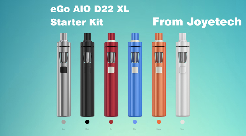 Joyetech eGo AIO D22 XL Starter Kit Overview