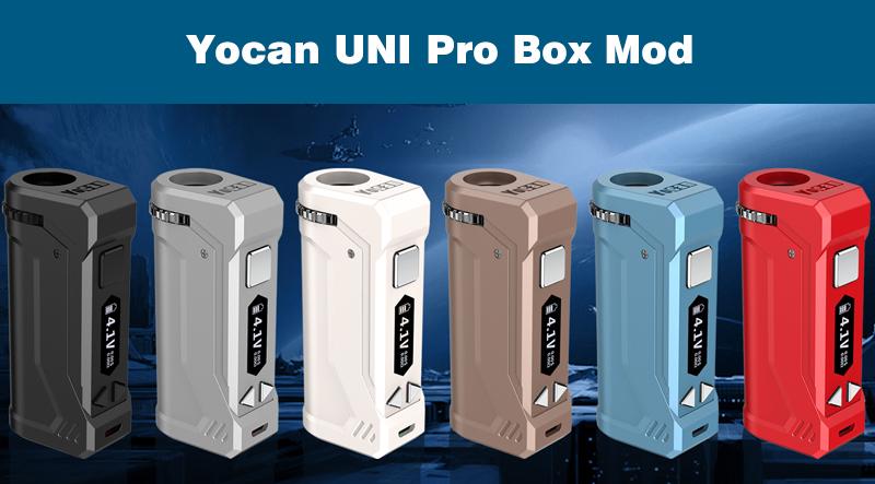 Yocan UNI Pro Box Mod Instructions