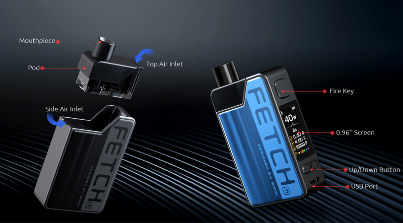 more on SMOK Fetch Mini Kit