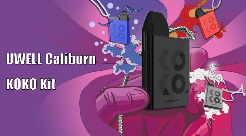 UWELL Caliburn KOKO Kit Instructions