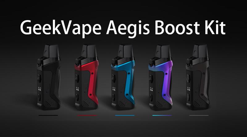 GeekVape Aegis Boost Kit Instructions