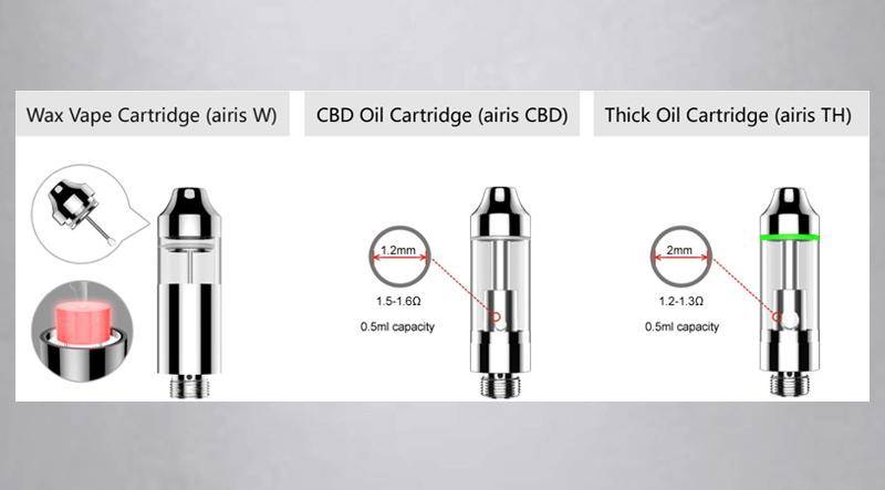 Wax Vape Cartridge (Airis W)
