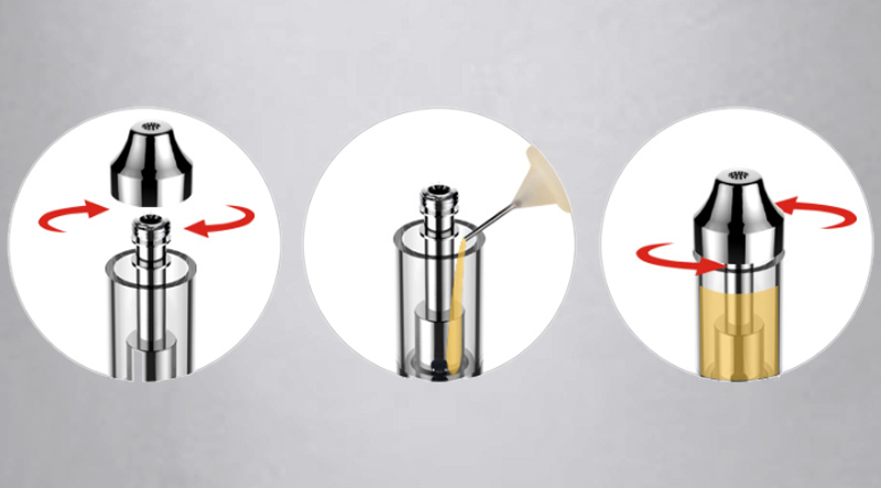 Refillable Oil Cartridges