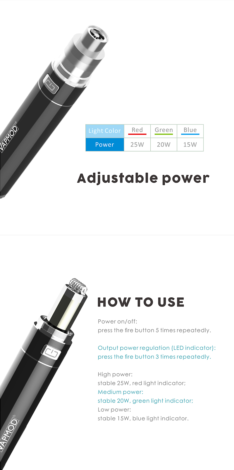 more on Vapmod Stoner-X 2 in 1 Vaporizer 4