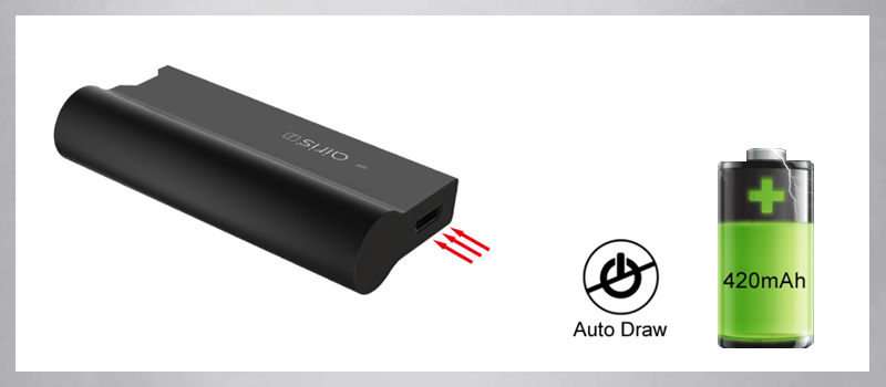 Authentic 420mAh battery