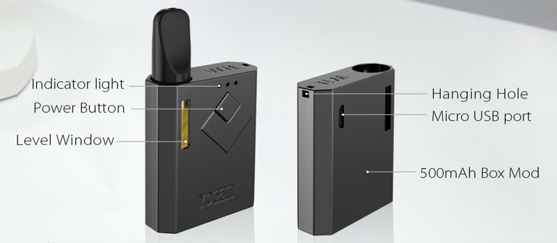 Yocan Wit Exploded View