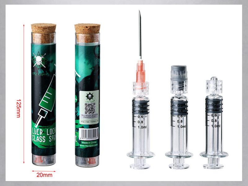 more on LTQ Vapor Luer Lock Glass Syringe 2