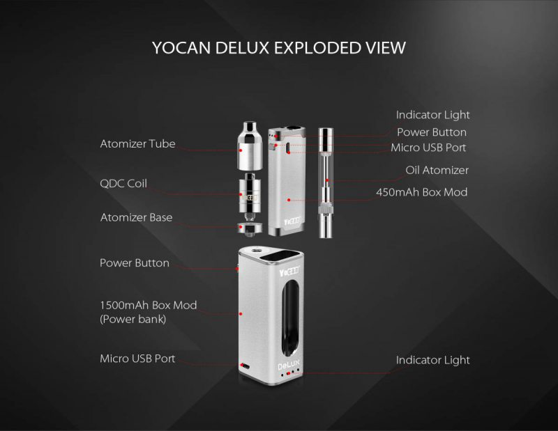 more on Yocan Delux 2 in 1 Vaporizer 3