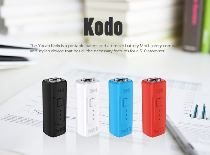 more on Yocan Kodo 510 Battery 400mAh Box Mod 1