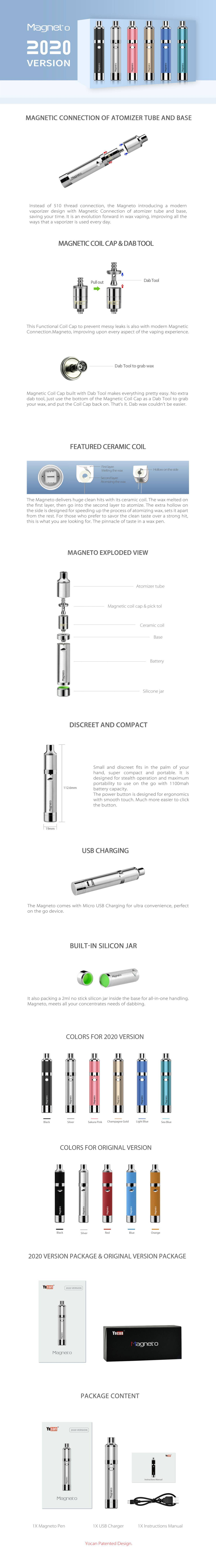 more on Yocan Magneto Vaporizer For Wax 1