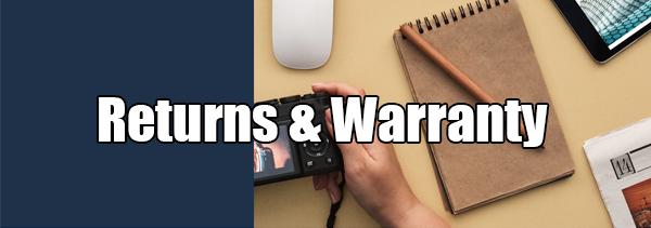 Returns & Warranty