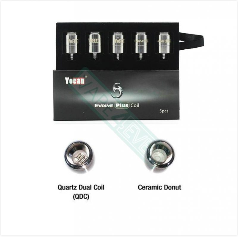 Yocan Evolve Plus Replacement Coil QDC/CDC Coil 5pcs/pack Fit For Evolve Plus Instruction