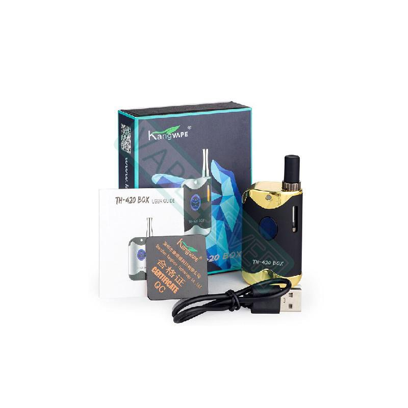 Kangvape TH-420 II Kit: 510 Thread CBD Vape Box Mod 650mah 1