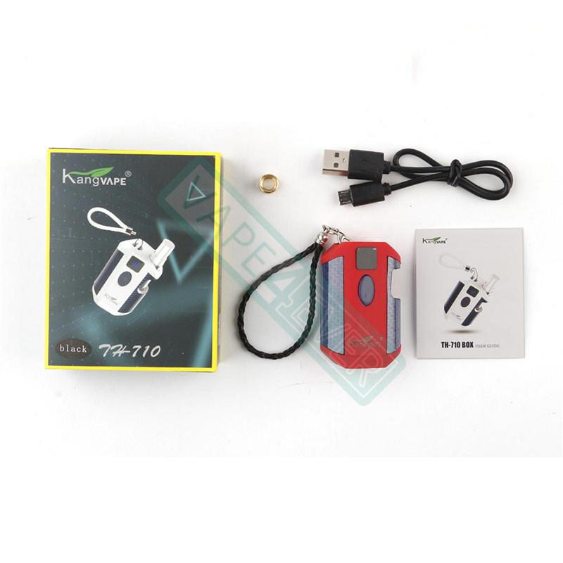 Kangvape TH-710 Vape Box Mod Kit: 510 Thread CBD Vaporizer 650mah 1