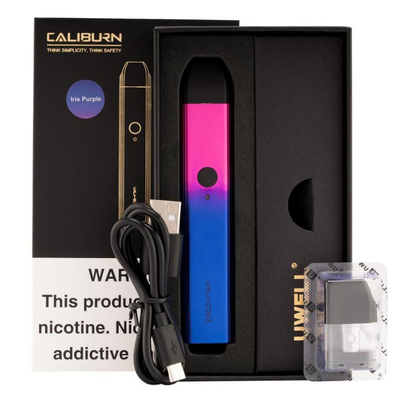Uwell Caliburn Pod System Vape Kit 520mAh & 2ml 1