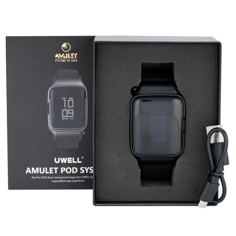 Uwell Amulet Pod System Vape Watch Kit 370mAh 1