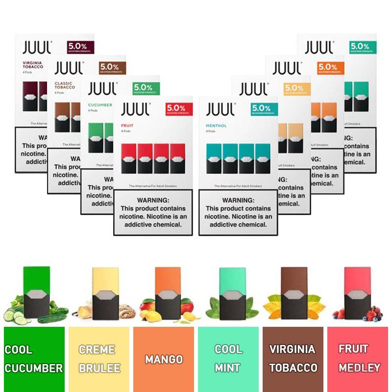 JUUL Pod Flavors | Vape4Ever