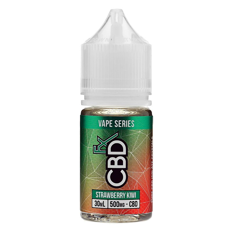 CBDfx Vape Juice - Strawberry Kiwi 0