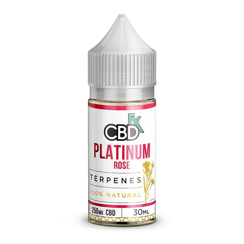 CBDfx Vape Oil - Platinum Rose 0