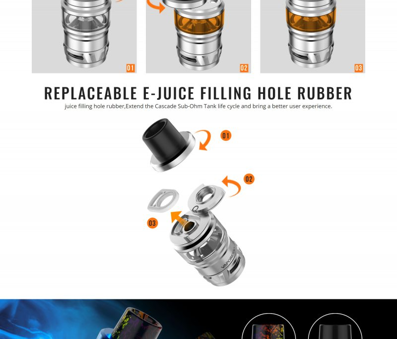 Vaporesso Cascade 7ML 24mm Tank 5